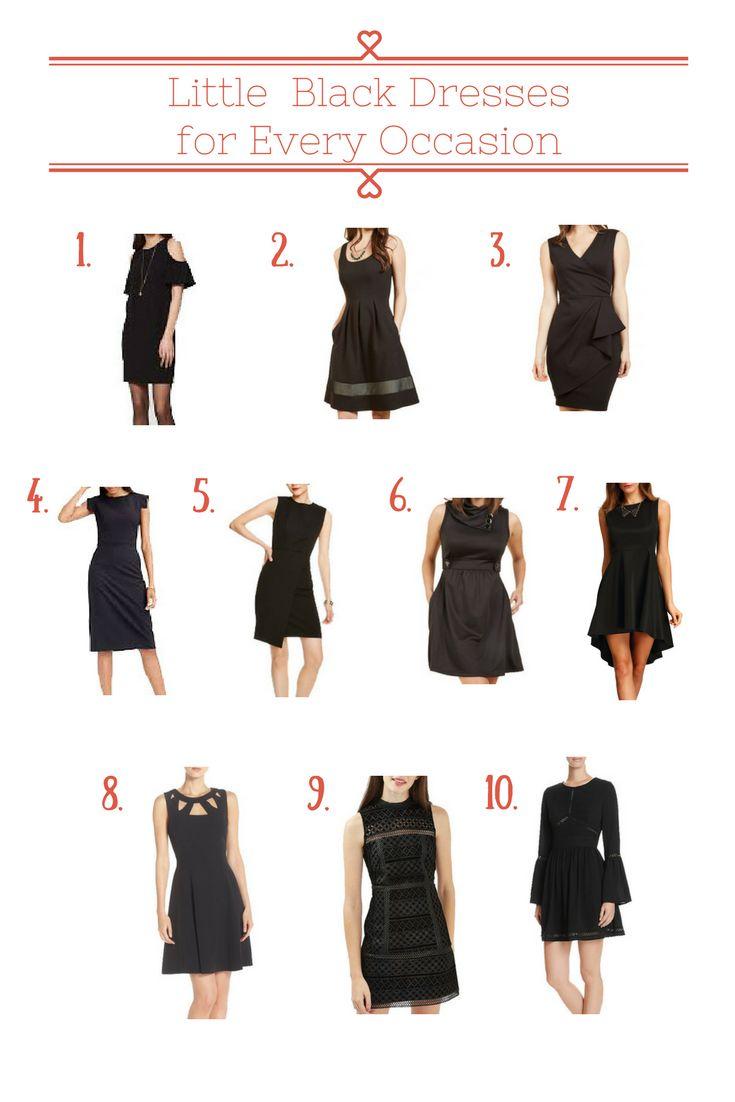 Versatile little black dress, little black dress with sleeves, classic little black dress