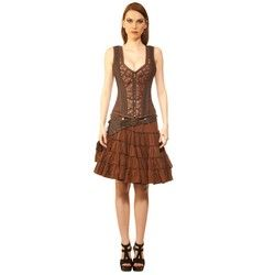 Armored Minx Steampunk Corset Dress