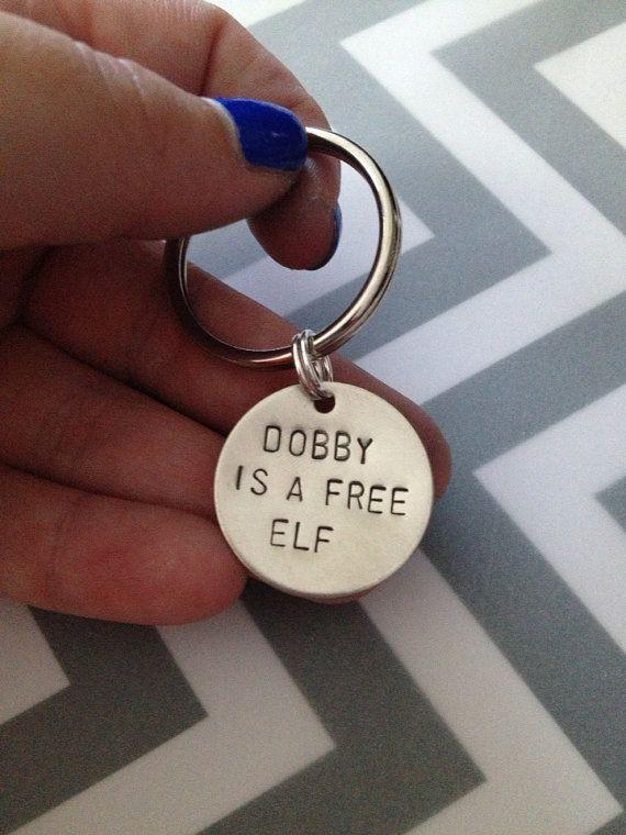 Dobby is a Free Elf - Harry Potter Keychain