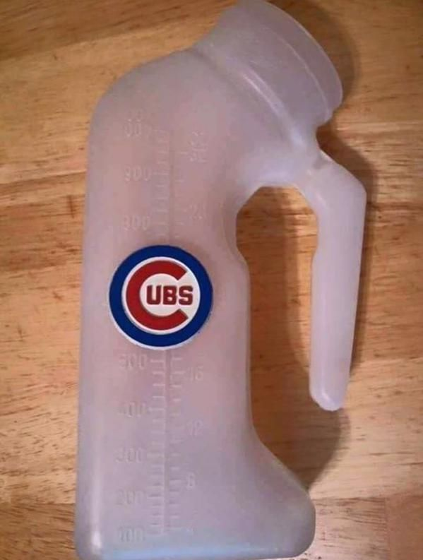 I'd go to a Cubs game if they gave these away. Big novelty item