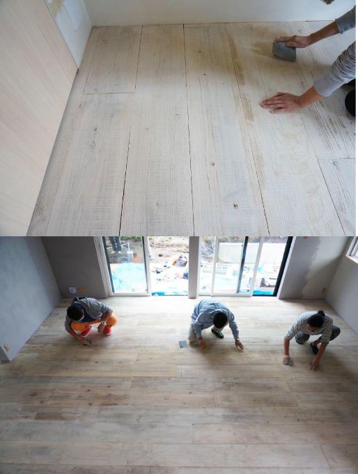 ENJOYWORKS/エンジョイワークス/DIY/フローリング/flooring/SKELTONHOUSE/スケルトンハウス