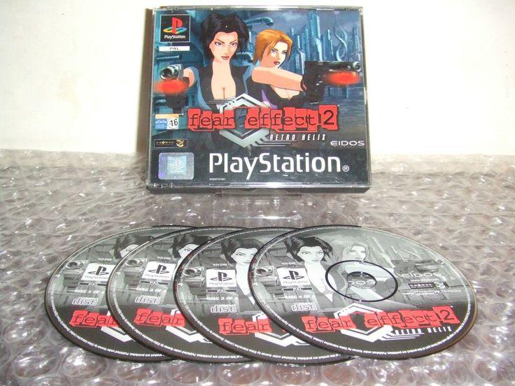 FEAR EFFECT 2 Retro Helix - PS1 ps2 ps3 playstation - ITA ESP - Prima Stampa