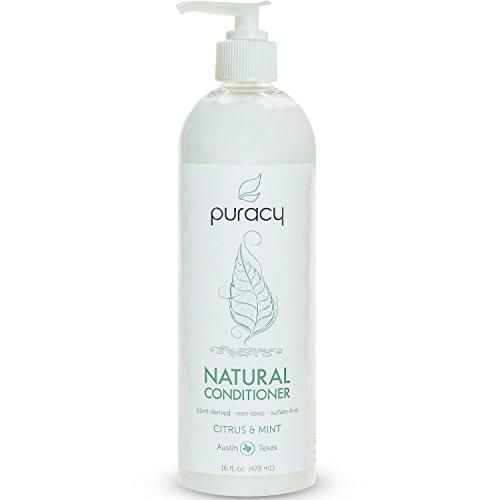 Puracy Natural Daily Sulfate-Free Hair Conditioner Citrus & Mint 16 Fluid Ounce