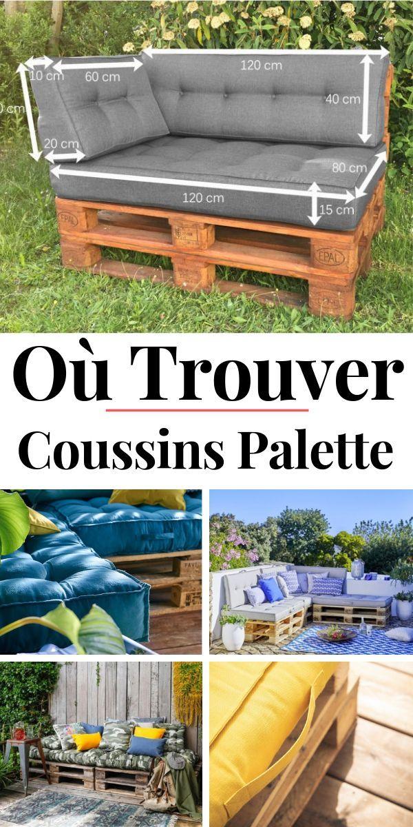 Coussin Palette Ou Le Coussin Pour Palette Salon De Jardin