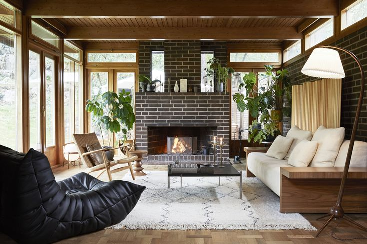 Amazing and beautifully decorated 1960's home in Sweden