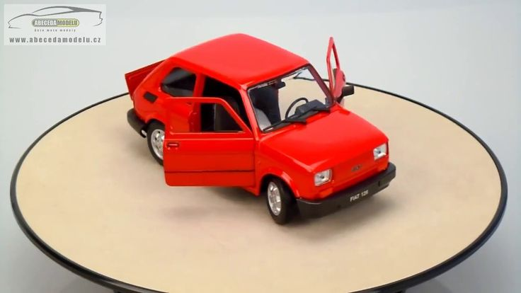 FIAT 126p Welly 1/21