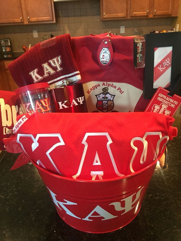 Kappa Alpha Psi Gift basket