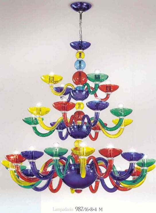 34 best chandeliers images on pinterest chandeliers chandelier 987 multi colored chandeliers fiammingo style multi colored chandelier at twenty eight lights mozeypictures Images