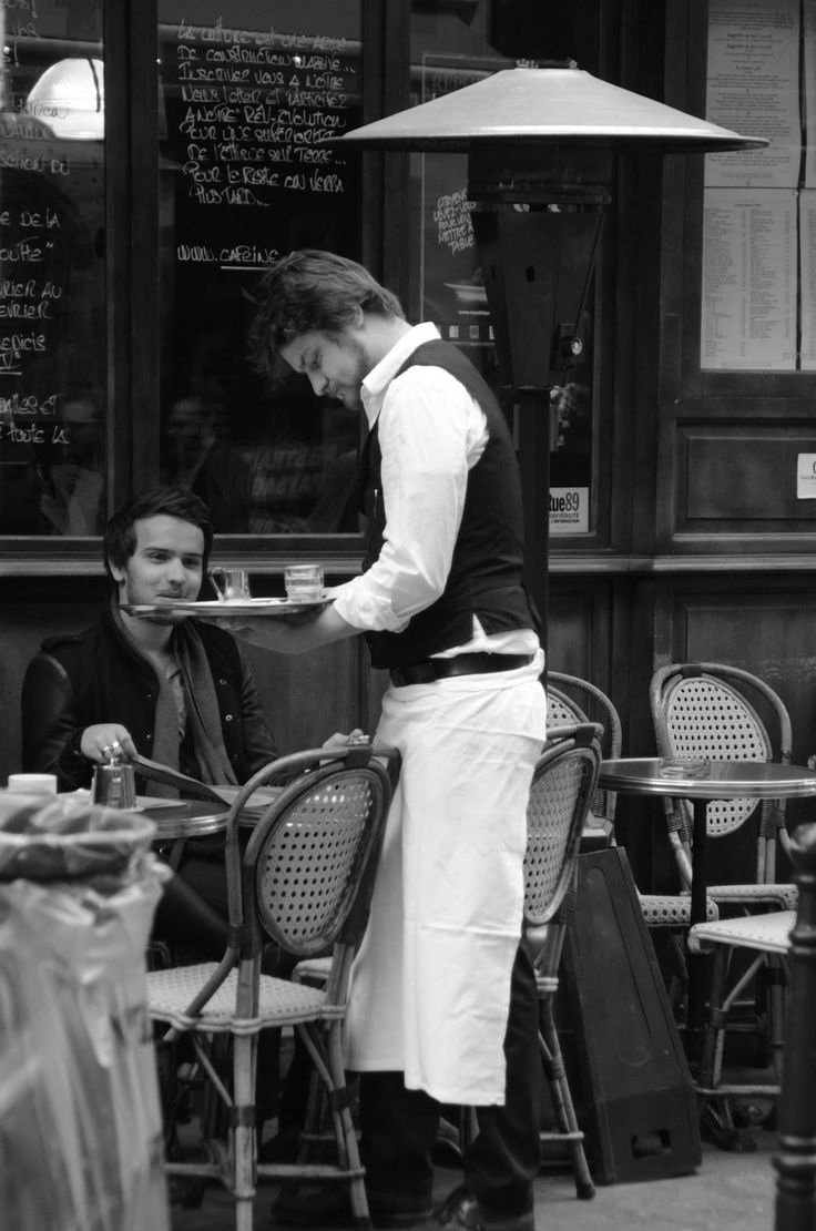 Paris and Beyond: Le Marais - (attire for waiters)