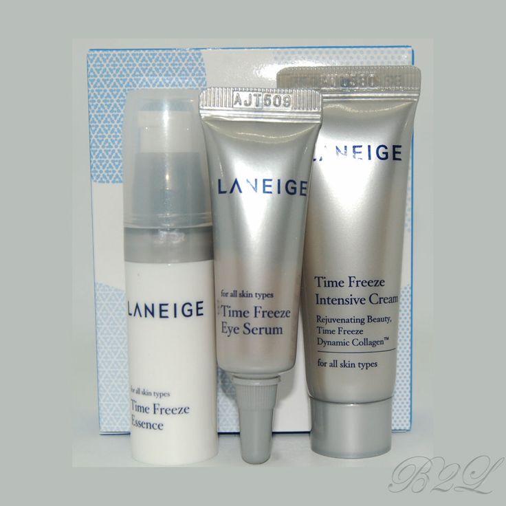 [LANEIGE] Time Freeze Trial Kit 3 Items / Essence 5ml, Cream 10ml, Eye Serum 3ml #Laneige
