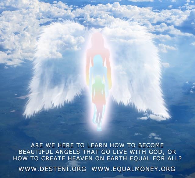 MFM Art: Beautiful Angels that Live with God