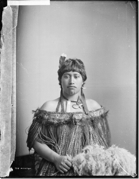 maori woman,Frank j Denton,1904 whanganui region.