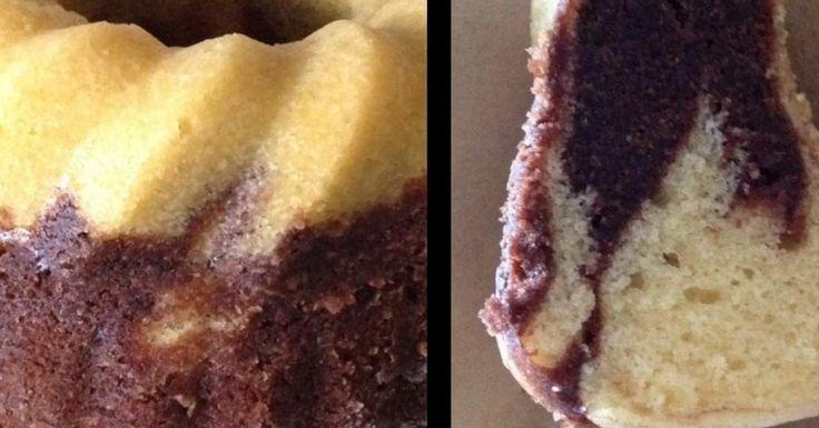 Super saftiger Varoma Marmorkuchen