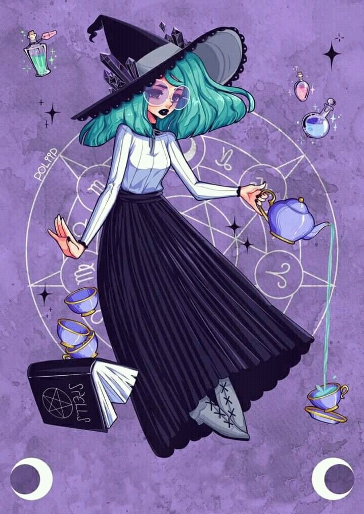 💕Loves💕 | Witch drawing, Witch art, Art