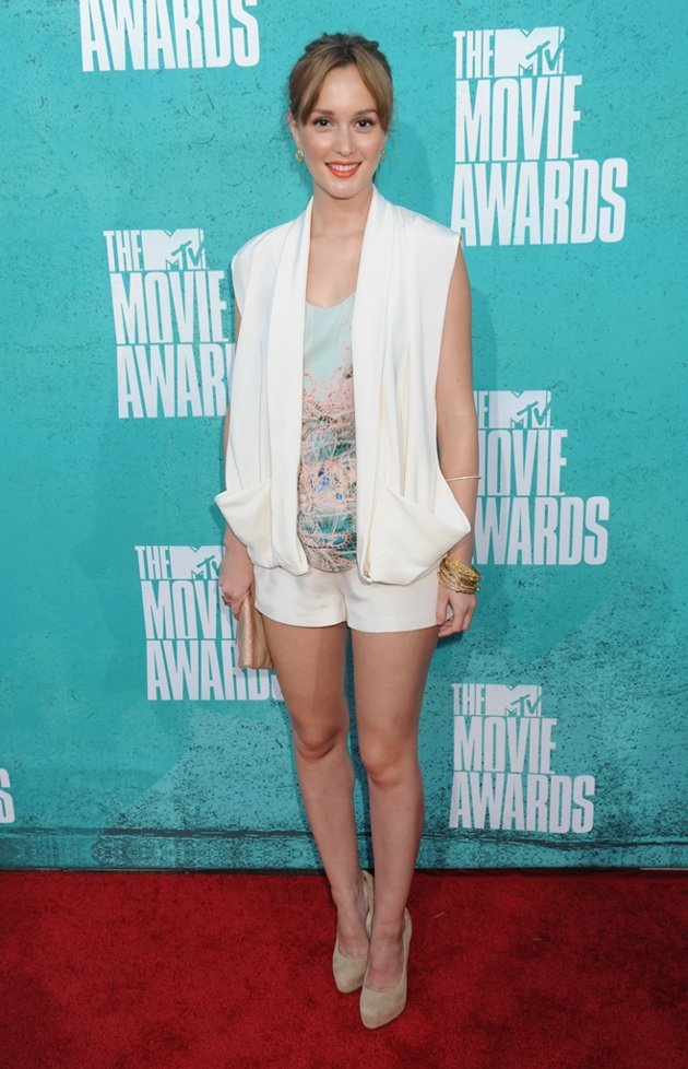 Leighton Meester MTV Movie Awards 2012