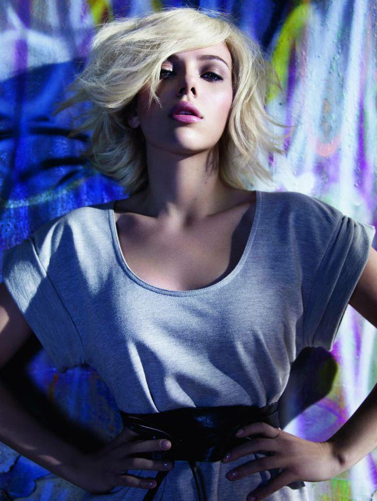 Scarlett Johansson MANGO Spring Summer campaign