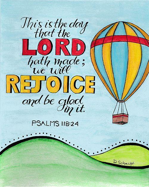 FREE PRINTABLE - Psalms 118:24