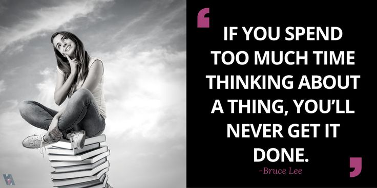If You Spend Too Much time Thinking About It, You'll Never Get It Done. Let VVA Do The Thinking For You,