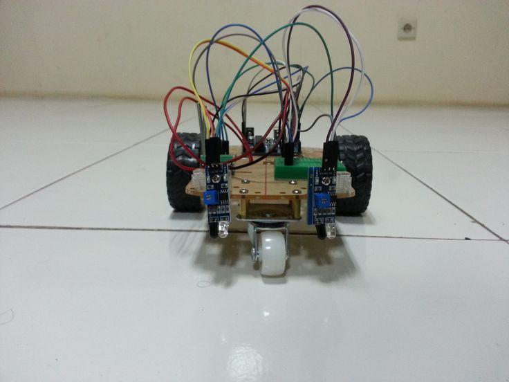 Robot Line Follower well done