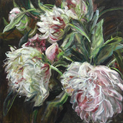 Surprise your sweetheart this Valentine's Day with original artwork from Bau-Xi Gallery on South Granville! Pictured here, an everlasting flower bouquet by Artist Jamie Evrard.