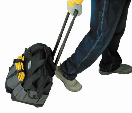 STANLEY TOOL BAG WITH WHEEL. For More Details Visit: www.toolswalt.com