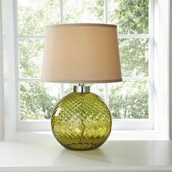 Sorrell Glass Table Lamp $160