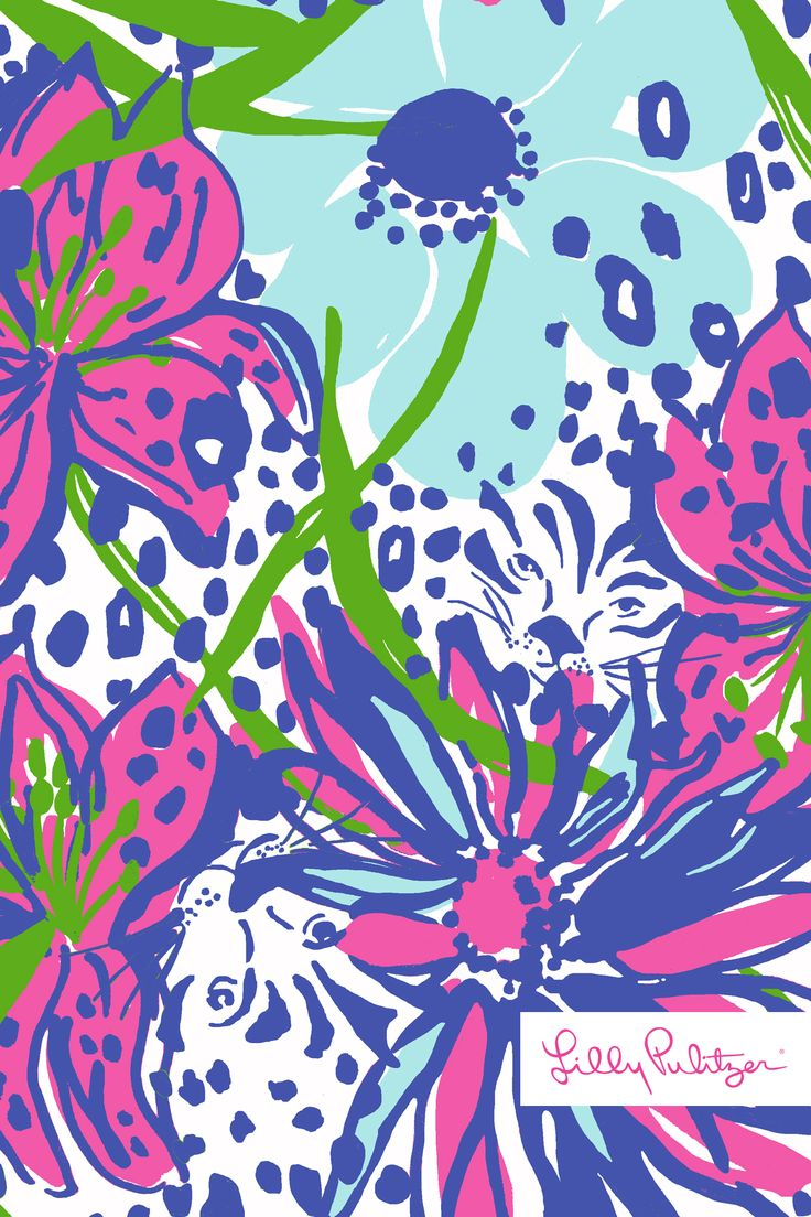 lilly pulitzer in the garden wallpaper for iphone
