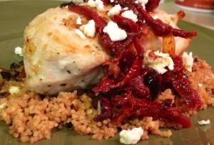 NEW POST! Mediterranean Couscous Stuffed Chicken Breast! Follow the ...