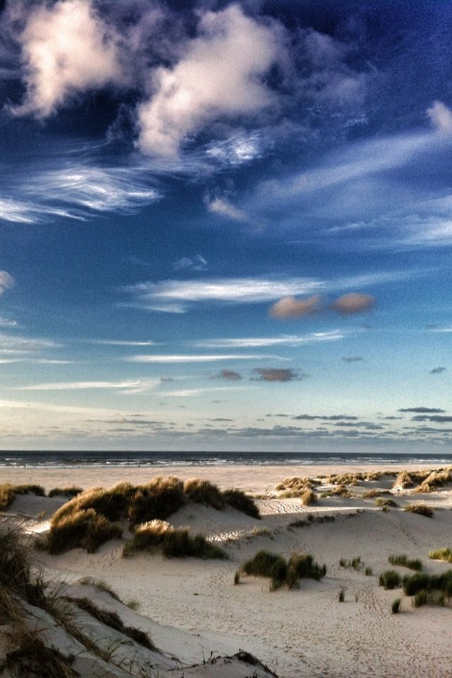 Beach at Terschelling Holland / The Netherlands.
