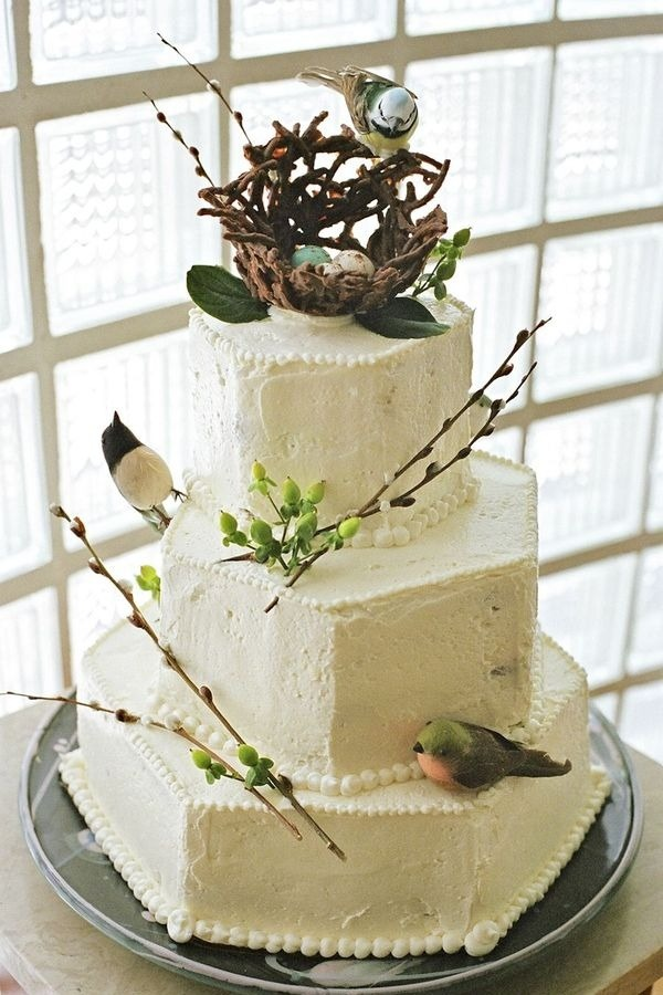 Birds BirdsNature Food, Birds Nests, Spring Wedding, Cake Ideas, Easter Cake, Wedding Cakes, Beautiful Cake, Woodland Wedding, Birthday Cake