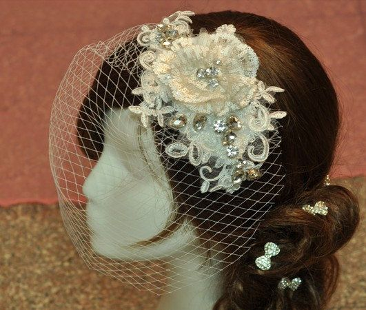 White Bridal Veil, sequin Short Veil,Wedding Veil,Best Selling bridal hair accessories,veil in handmade