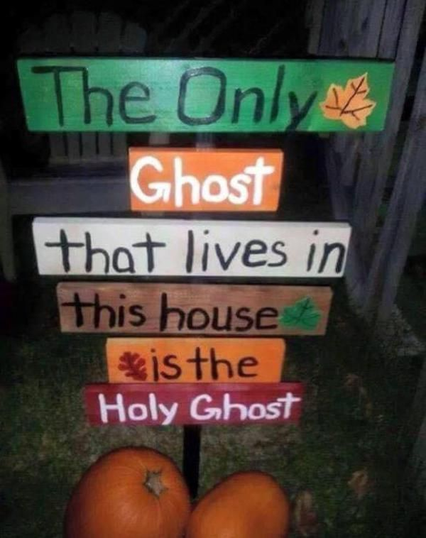 you know youre a christian at halloween when - Religious Halloween Crafts