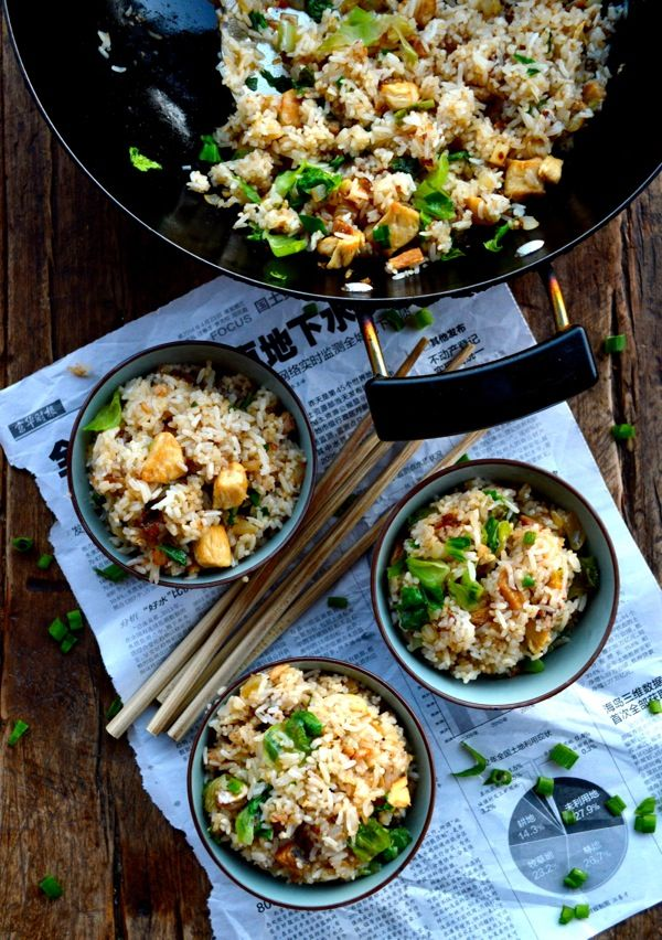 Cantonese Chicken & Salted Fish Fried Rice | The Woks of Life