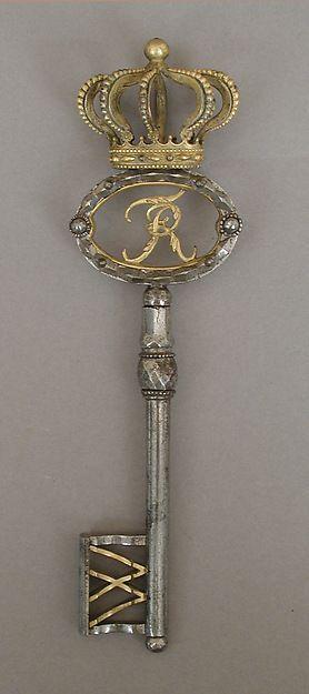Palace key via MetMuseum.org