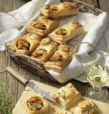 Mediterrán zöldségekkel töltött leveles táskák.  A receptért  kattints a képre!