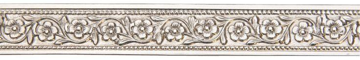 Flower Chain Nickel Silver Pattern Wire - 3 ft