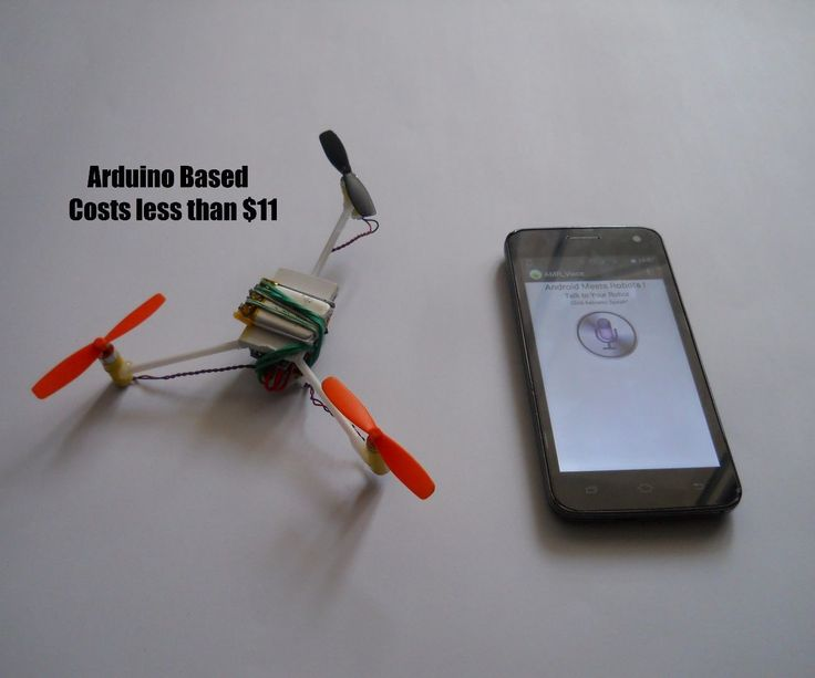Voice controlled arduino drone models and toys
