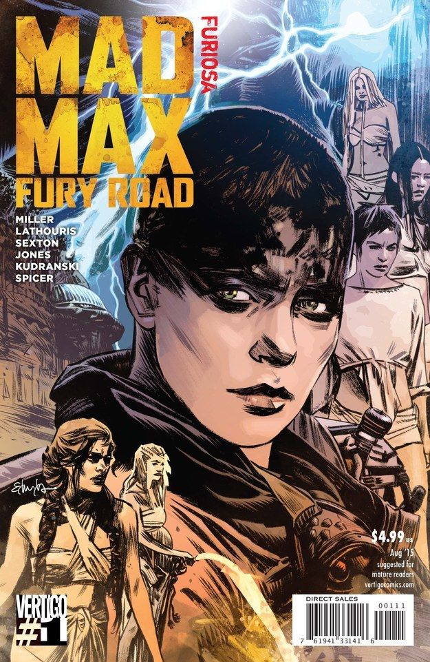 Furiosa is the second of a Mad Max: Fury Road miniseries from Vertigo. | There's Going To Be A Kick-Ass Comic About Imperator Furiosa