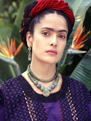 Salma Hayek in scene from the 2001 film Frida. Picture: Supplied