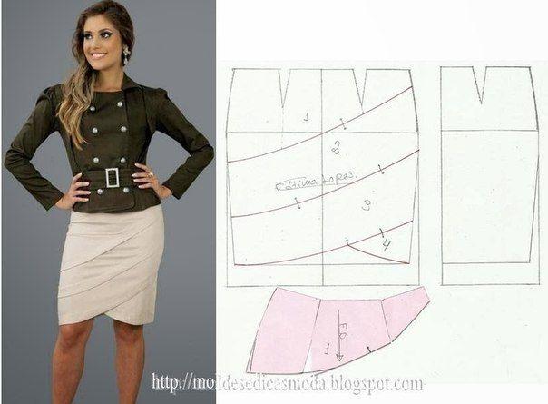 Mostrando Modelos de faldas para dama con patrones04.jpg