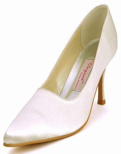 speciella skor elegant europeisk nivå med spetsen på bruden handgjorda satin bröllop skor 007iv