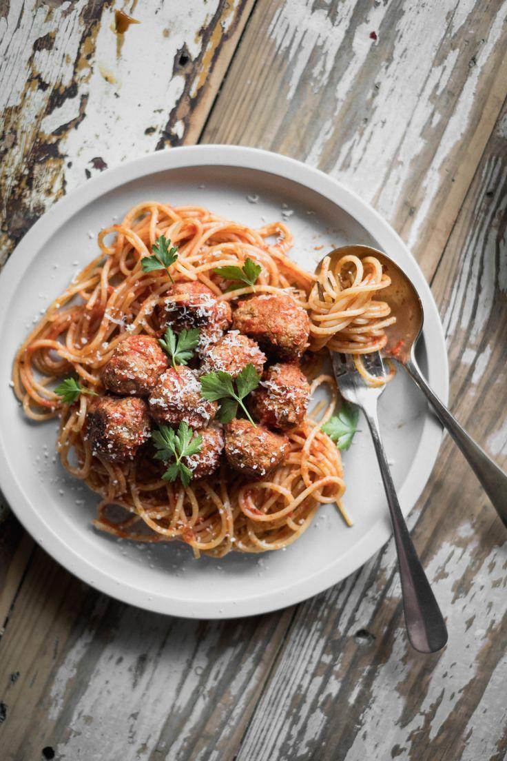 Spaghetti & Meatballs — Naturally Nutritious