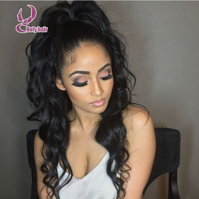 25 beautiful high curly ponytail ideas on pinterest curly remy ponytail full lace wig body wave virgin lace front wig virgin malaysian glueless full lace human hair wigs with baby hair pmusecretfo Image collections