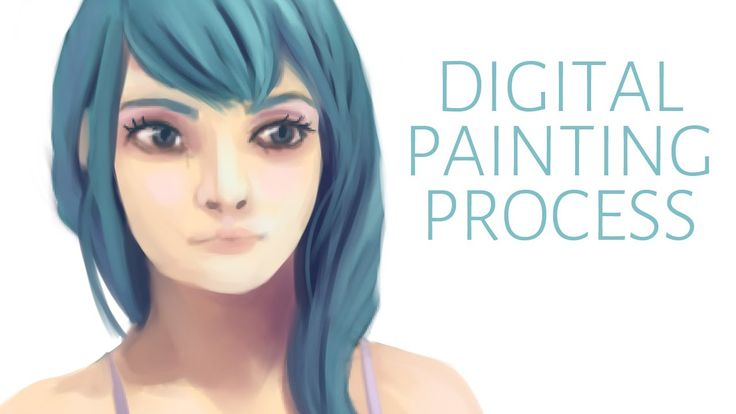 Digital painting process demo by Adrienn Ecsedi. From sketching to coloring. #DigitalArt #DigitalPaintingTutorial #DigitalPaintingProcess