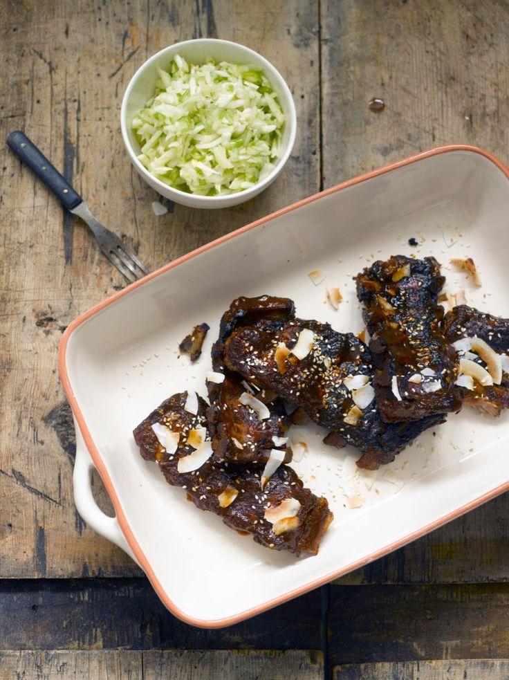 Grillaa kesän mehevimmät ribsit! Katso ohje, jolla onnistut. Resepti: http://www.maku.fi/reseptit/ribsit