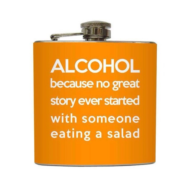 I need one of these.: 21St Birthday, Birthday Gift, Liquid Courage, Flasks, So True, Funny Stuff, Funnies, Funny Alcohol