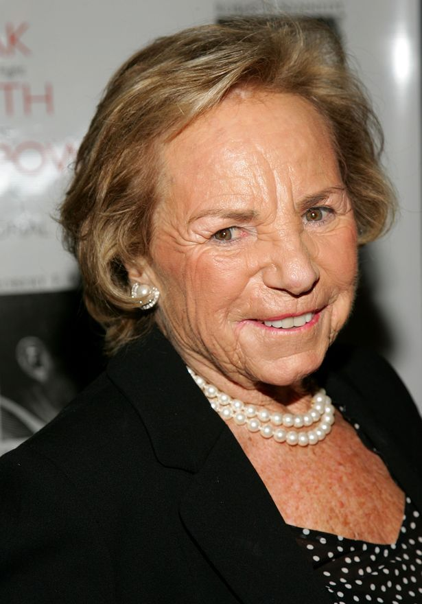 Ethel Kennedy attends the Speak Truth To Power Memorial ... | 615 x 880 jpeg 67kB