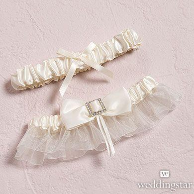 Beverly Clark's Duchess Bridal Garter Set