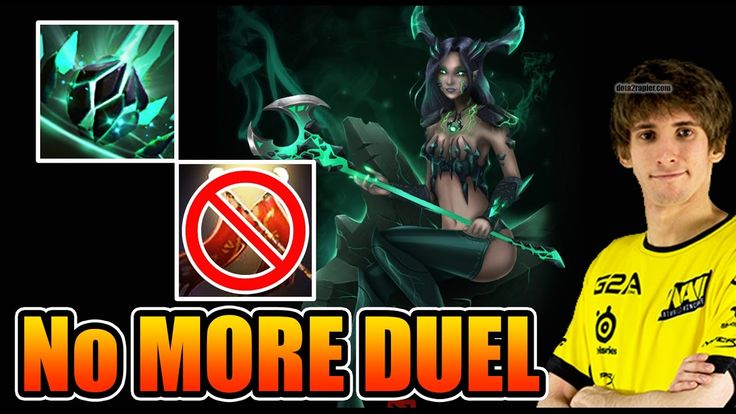 HOW To KEEP Away DUEL - Dendi [Outworld Devourer] Dota 2 7.05