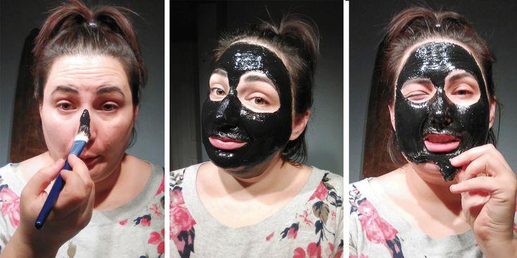 new year, new skin: black pore mask